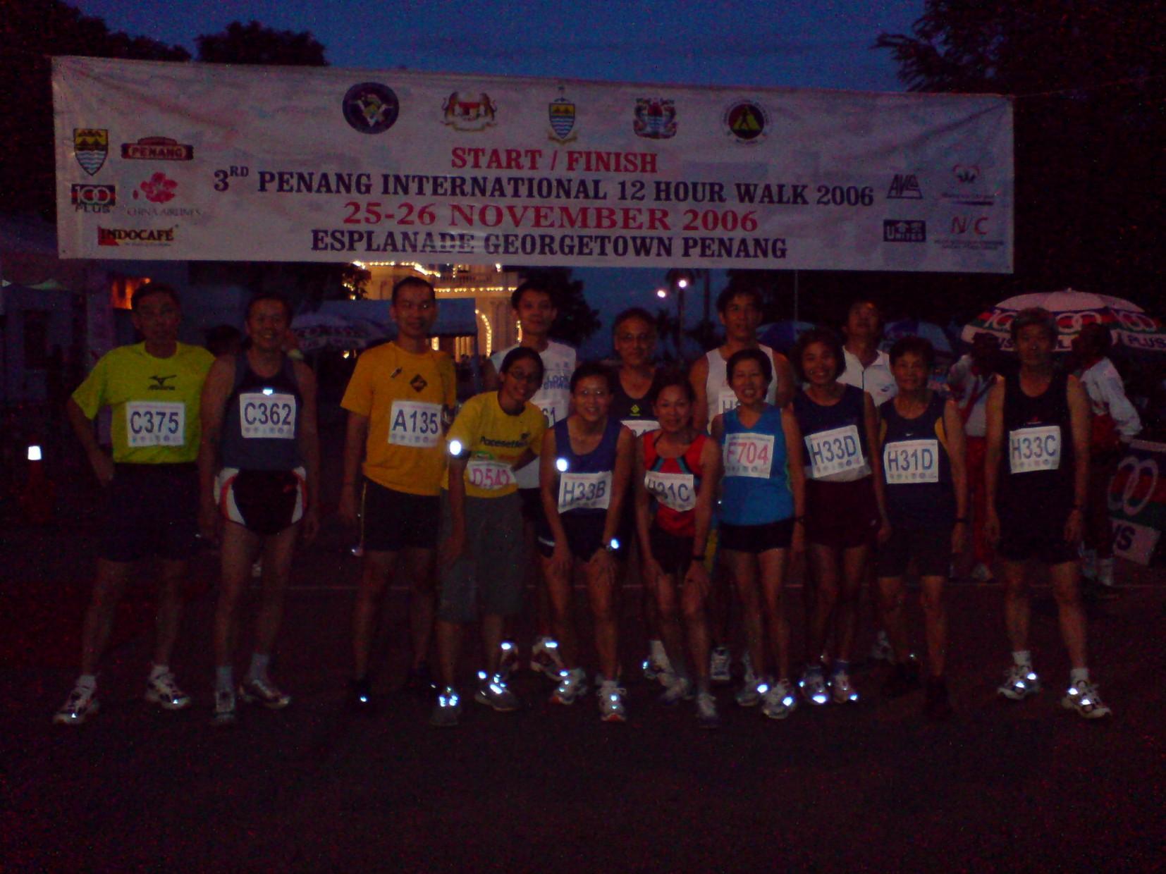 Penang International 12 hour Walk2006