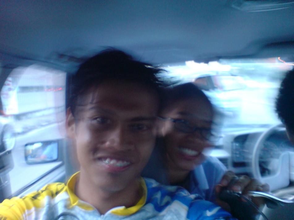 Syaaban and Kak Julie!