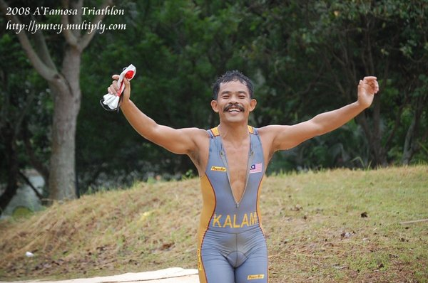 Major Kalam (Powerbar Team Elite) ! Happy to finally be out of the water !