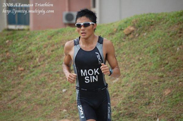 MOK YING REN of Singapore.1st place men 16-29 OD