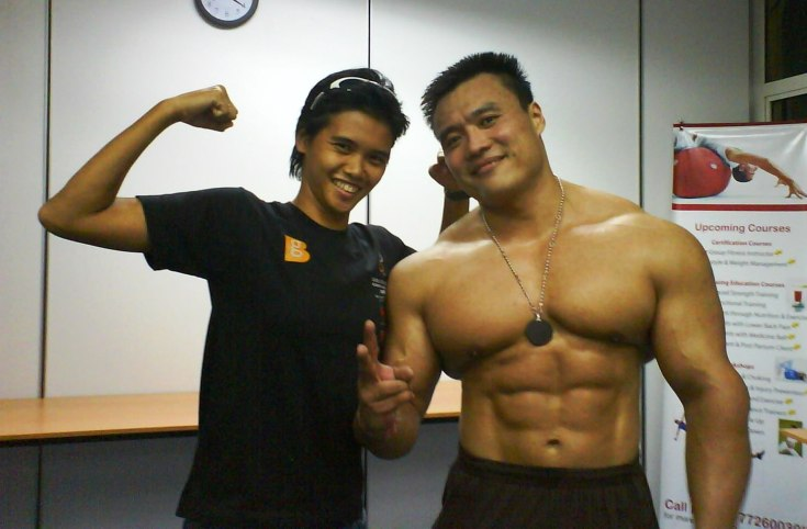 Wong Hong and proSifu Cecak Kobeng..huhuhu....
