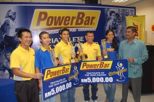 Powerbar Triathlete of the Year Award PC