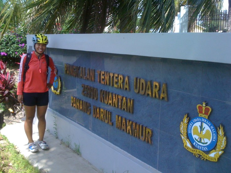 Air force base, Kuantan.