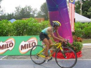 Bike start . mind the tongue. :P