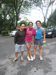 With Doc Ray and Bee of the THG ! 1 IronDoc with 2 IronChica !