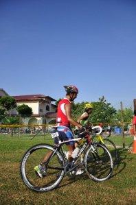 Powerman Malaysia 2009 - bike out