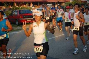 Powerman Malaysia 2009 - run 1