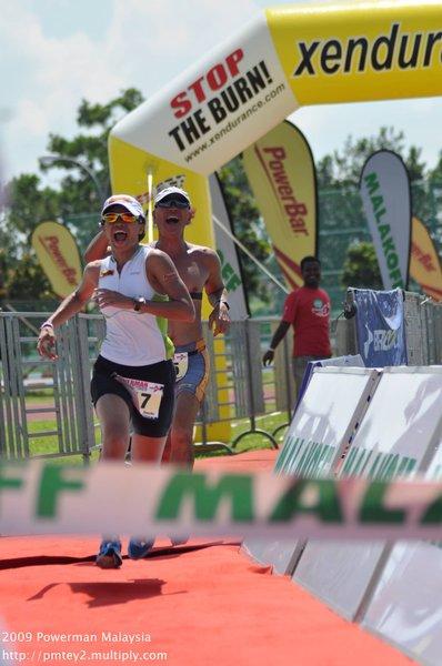 Powerman Malaysia 2009 - finish line