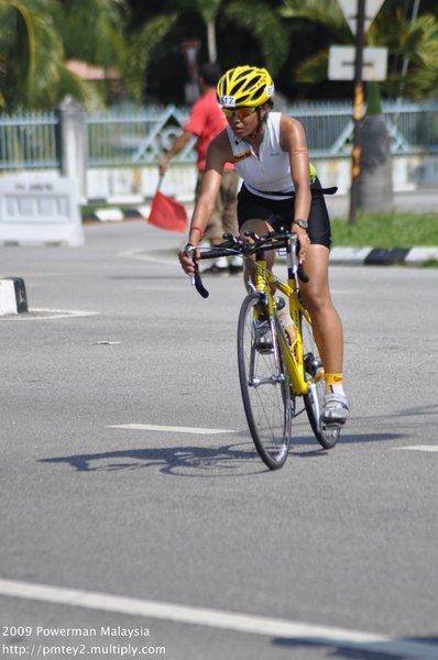 Powerman Malaysia 2009 - bike in