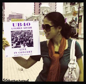 A gift from Chekdet to cik Jewelz --> my favourite band ever UB40 ! tapi disc cover je lah ! dalam kosong !!