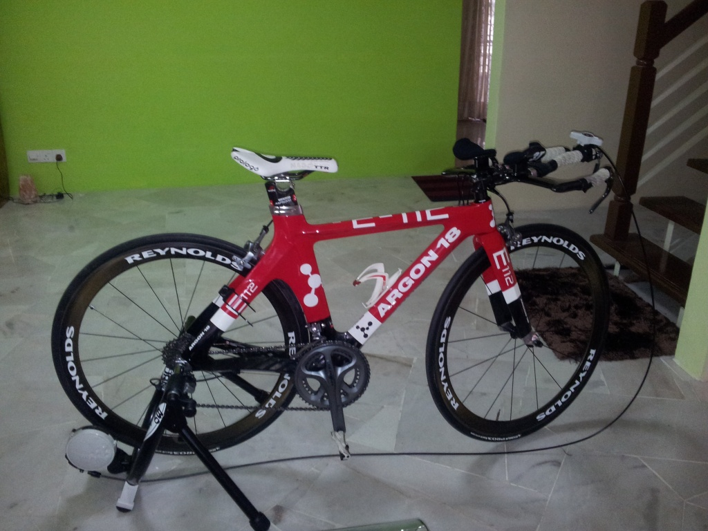 Argon 18 E112 Tri Bike For SALE