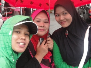 With Mek(s) Kelate at Tapah-Cameron stage finish
