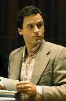 Ted Bundy -- a serial killer, rapist, kidnapper and necrophile. Photo source : www.7criminalminds.com.