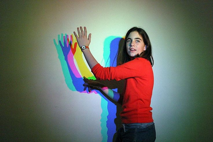 Playing with the shadows. Photo source : wikipedia.org