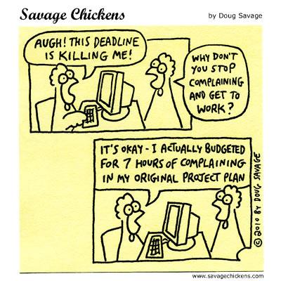 Chicken joke from savagechicken.com