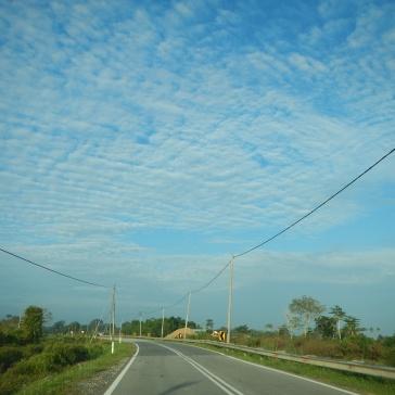 Beautiful morning sky - Pahang.