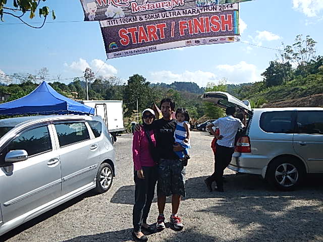 Post supporting the runners at the recent Titi 100km.