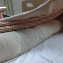 Patient resting :) Do not disturb ! Get well soon dear Julia.