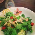 Chicken salad with Italian dressing