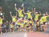 Salomon runners doing the jump shot !