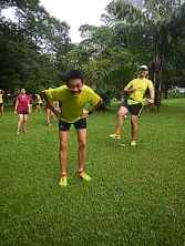 Jamie Pang, a very recognisable face in Malaysia's running scene. Follow his ramblings and informative write ups at www.jamiepang.com