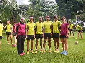 Triathlete cum Runners in Salomon