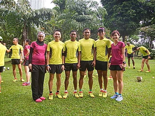 Triathlete cum Runners in Salomon