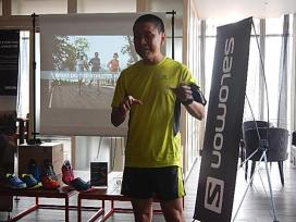 Salomon X Scream 3D provides comfort, security and grip. Suitable for wide feet, and for use on varied surfaces. - Raymond, Salomon Malaysia brand ambassador