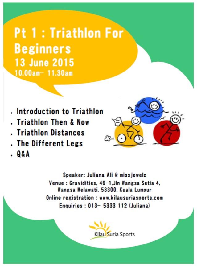 Triathlon Talk Series Pt1