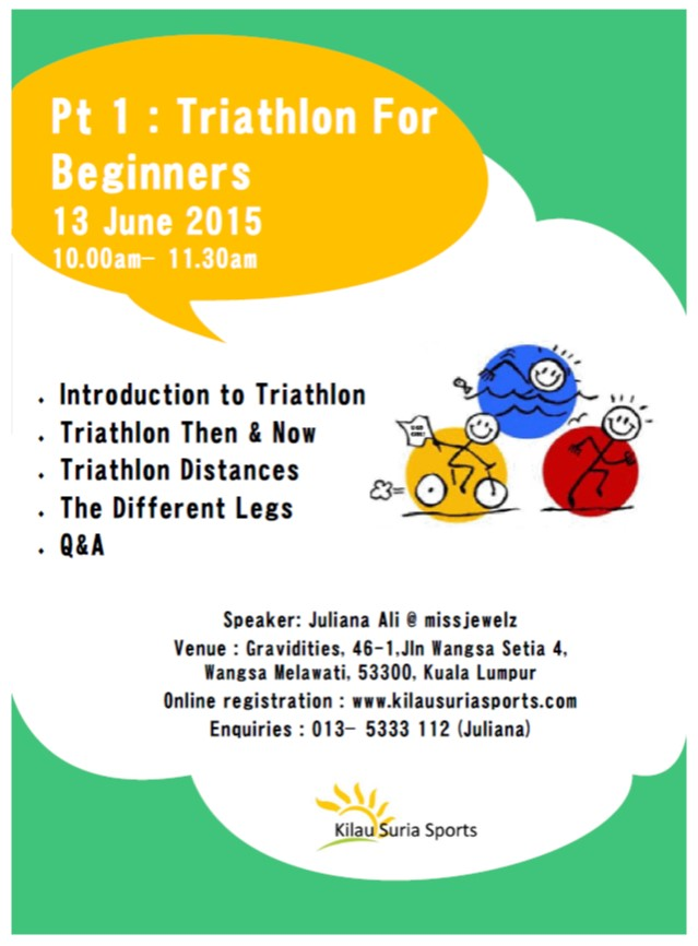 Triathlon Talk Series Pt1