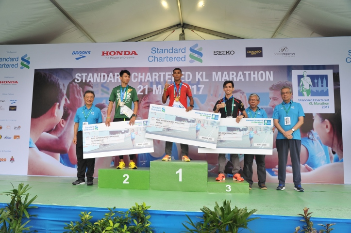 Full Marathon Malaysian Men_s Open Category