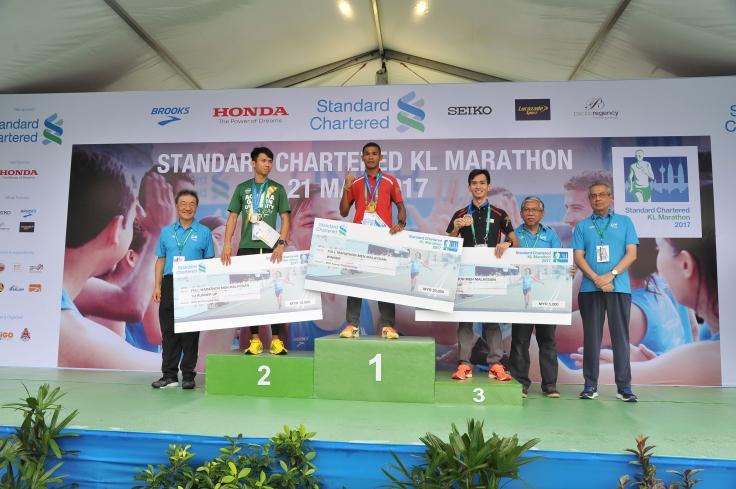 Full Marathon Malaysian Men_s Open Category