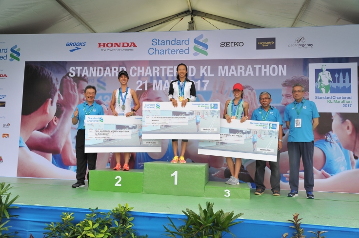 Full Marathon Malaysian Women's Open Category