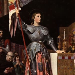 Joan of Arc (Photo credit: biography.com)